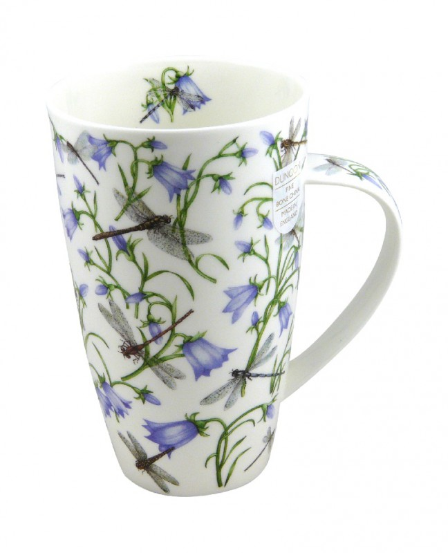 dunoon tasse fine bone china porzellan henley dovedale glockenblume blau 600ml ebay. Black Bedroom Furniture Sets. Home Design Ideas